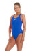 speedo Essential Endurance + Medalist Swimsuit Women neon blue